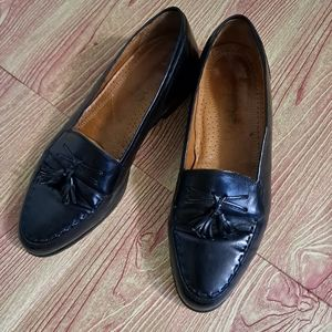 Vintage Adolfo Slipon Loafers Black EUC